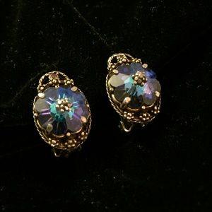 Spectacular Vintage Clip Earrings